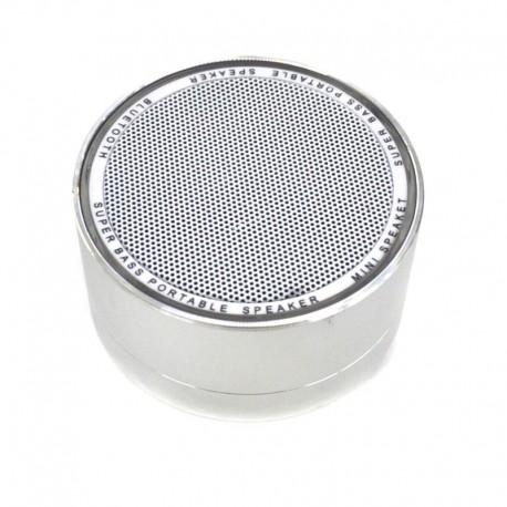 Колонка Bluetooth Shayba Mini Silver (Серебряный)