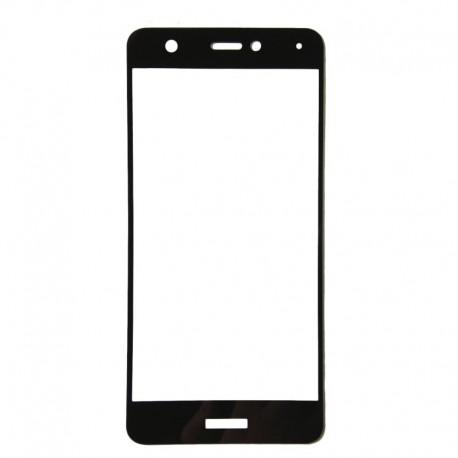 Защитное стекло 2.5D GLASS HOCO Huawei Nova 2 Black (Черный) Перед