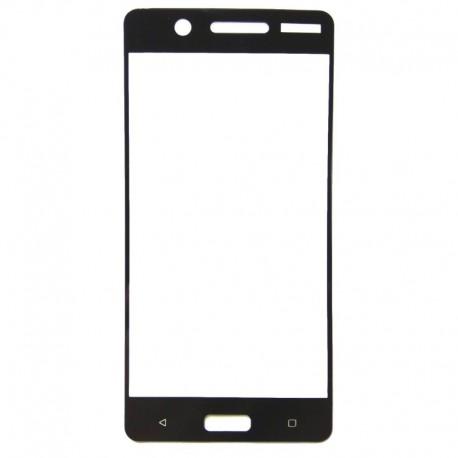 Защитное стекло 2.5D GLASS HOCO Nokia 3 Black (Черный) Перед
