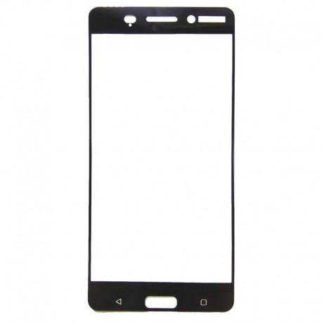 Защитное стекло 2.5D GLASS HOCO Nokia 5 Black (Черный) Перед
