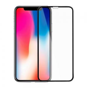 Защитное стекло 3D GLASS HOCO iPhone X/Xs Black (Черный)