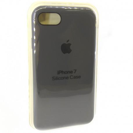 Силиконовый чехол (silicone case) iPhone 7G Gray (Серый)