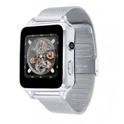 Умные часы Smart Watch X6 Metal Silver (Серебряный)