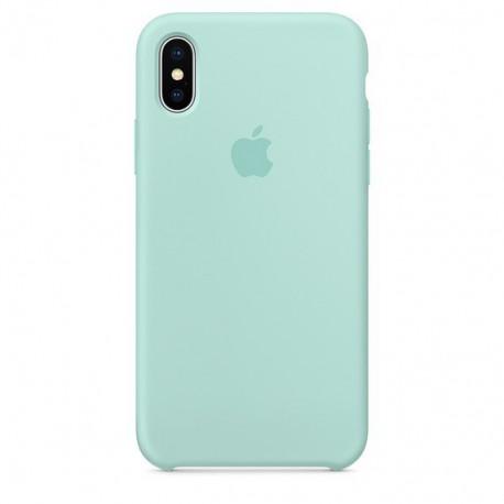 Силиконовый чехол (silicone case) iPhone X/Xs Fresh Mojito