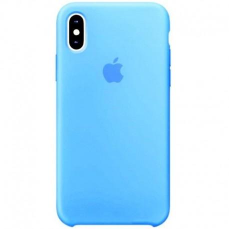 Силиконовый чехол (silicone case) iPhone X/Xs Blue Agate