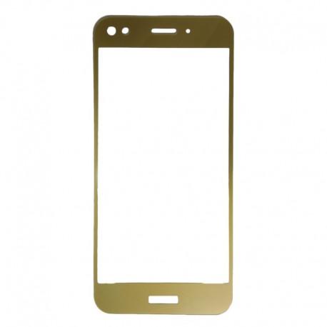 Защитное стекло 2.5D GLASS HOCO Huawei Nova Lite Gold (Золотой) Перед