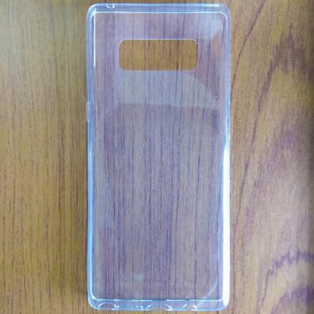 Силиконовый ультратонкий чехол Remax Samsung Galaxy Note 8 White (Белый)