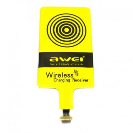Беспроводной приемник-ресивер AWEI под чехол microUSB