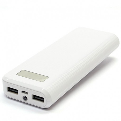 Power bank Proda 20000 mAh White (Белый)