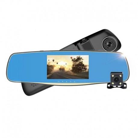 Видеорегистратор зеркало PIONEER C107 с камерой заднего вида