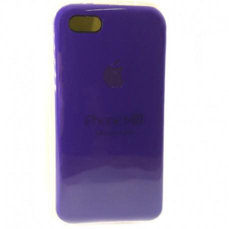 Силиконовый чехол (silicone case) iPhone 5G/5S/5SE Ultra Violet