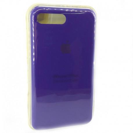 Силиконовый чехол (silicone case) iPhone 7G+ Ultra Violet