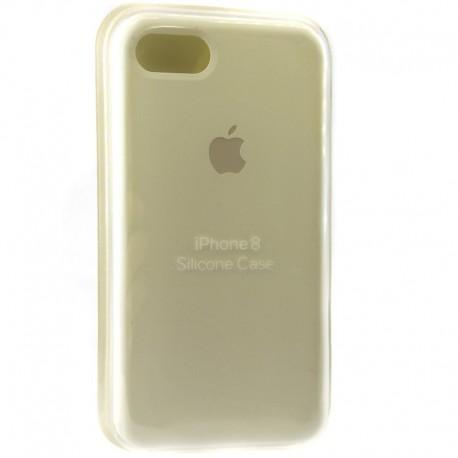 Силиконовый чехол (silicone case) iPhone 8G White (Белый)