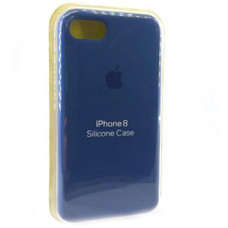 Силиконовый чехол (silicone case) iPhone 8G Blue Cobalt