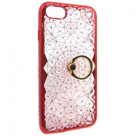 Силиконовый чехол Joyroom Ring iPhone 7G Red (Красный)