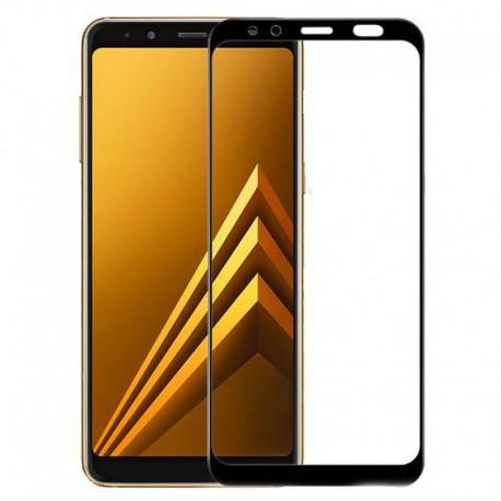 Защитное стекло 2.5D GLASS HOCO Samsung Galaxy A8 (2018) A530 Black (Черный)