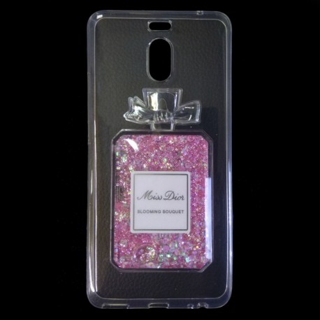 Чехол Swim Sequins Miss Dior Meizu M6 Note Pink (Розовый)