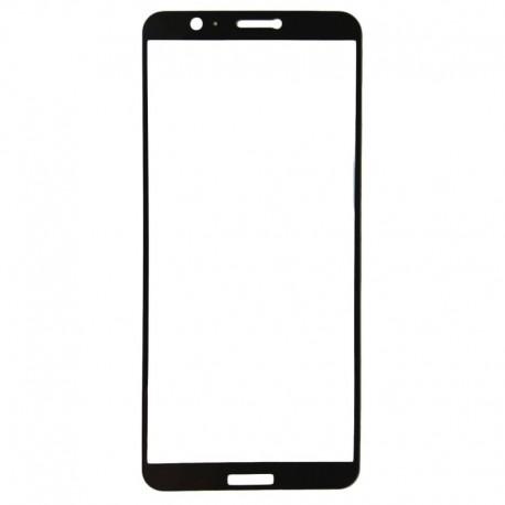 Защитное стекло 2.5D GLASS HOCO Huawei P Smart Black (Черный) Перед