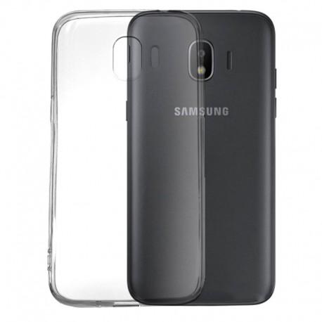 Силиконовый ультратонкий чехол Remax Samsung Galaxy J2 (2018) J250 White (Белый)