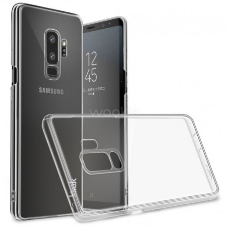 Силиконовый ультратонкий чехол Remax Samsung Galaxy S9 White (Белый)