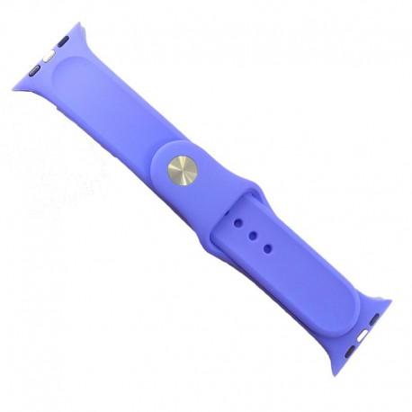 Силиконовый ремешок с софт-тач покрытием Watch 38-40мм Purple
