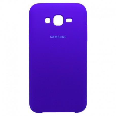 Силиконовый чехол (silicone case) Samsung Galaxy J7 Purple (Фиолетовый)