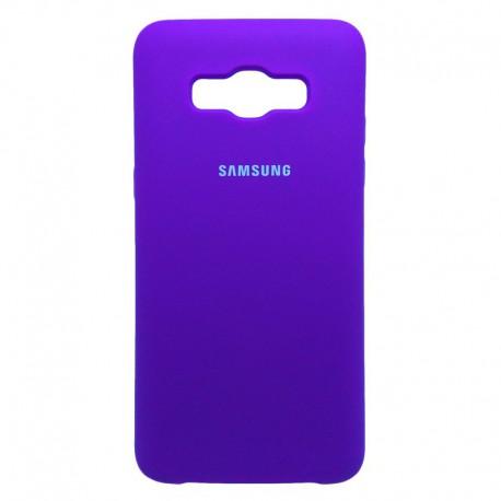 Силиконовый чехол (silicone case) Samsung Galaxy J5 2016 J510 Purple (Фиолетовый)