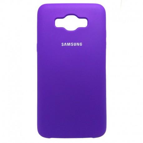 Силиконовый чехол (silicone case) Samsung Galaxy J7 2016 J710 Purple (Фиолетовый)