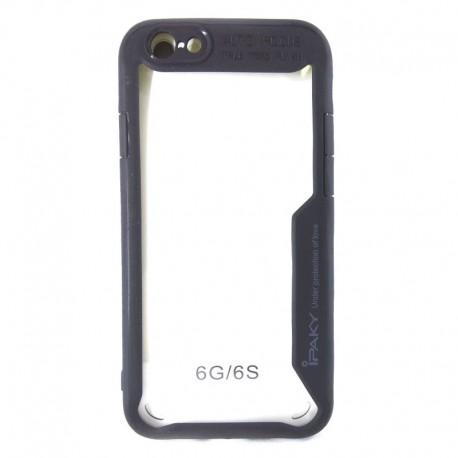 Чехол Clear Protection iPhone 6G/6S Black (Черный)