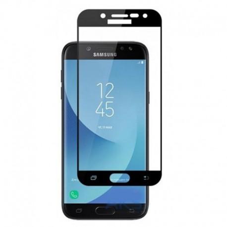 Защитное стекло Full Glue Glass Samsung Galaxy J3 2017 J330 Black (Черный)