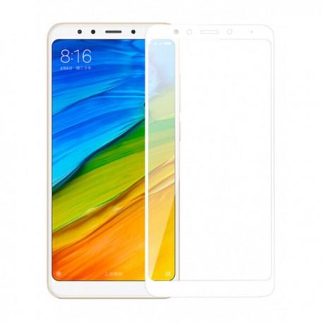 Защитное стекло Full Glue Glass Xiaomi Redmi 5 White (Белый)