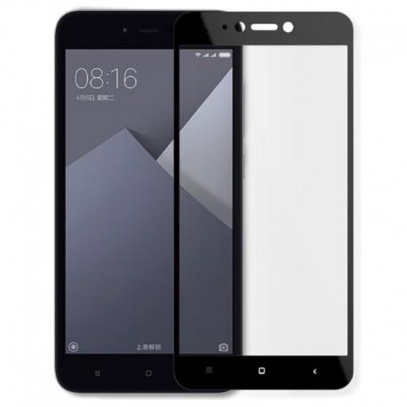 Защитное стекло Full Glue Glass Xiaomi Redmi Note 5A Black (Черный)