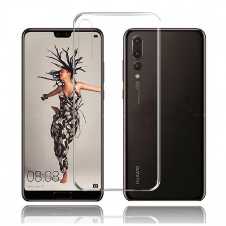 Силиконовый ультратонкий чехол Remax Huawei P20 Pro White (Белый)