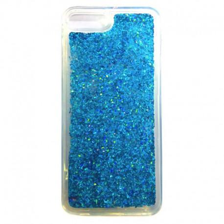 Чехол Swim Sequins NEW iPhone 7G+ Blue (Синий)