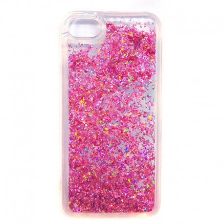 Чехол Swim Sequins NEW iPhone 7G Pink (Розовый)