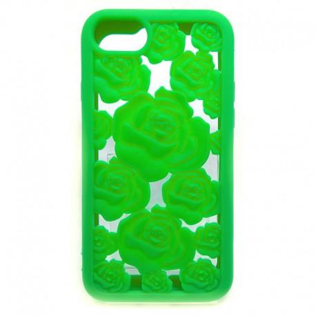 Силиконовый чехол Toy Rose iPhone 6G/6S Green (Зеленый)
