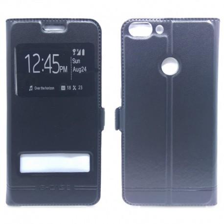 Чехол-книжка G-CASE Huawei P Smart Black (Черный)