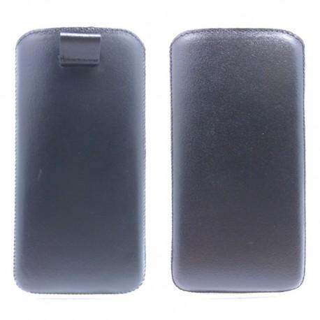 Чехол-хлястик iPhone X Black (Черный)