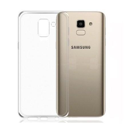 Силиконовый ультратонкий чехол Remax Samsung Galaxy J6 2018 J600F White (Белый)