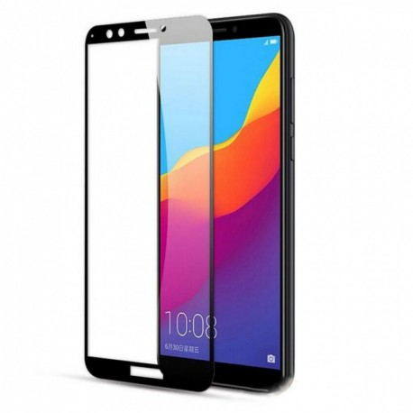 Защитное стекло 2.5D GLASS для Huawei Y6 2018 Black