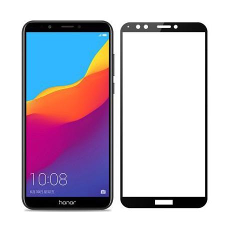 Защитное стекло 2.5D GLASS HOCO Huawei Y7 2018 Black (Черный)