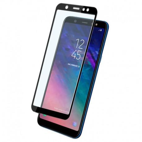 Защитное стекло 2.5D GLASS для Samsung Galaxy A6+ 2018 Black