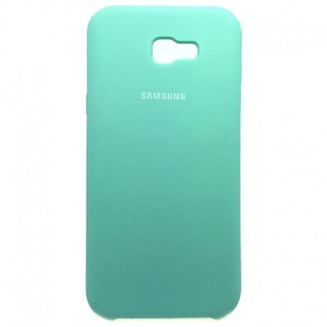 Силиконовый чехол (silicone case) Samsung Galaxy A7 2017 Duos A720 Fresh Mojito