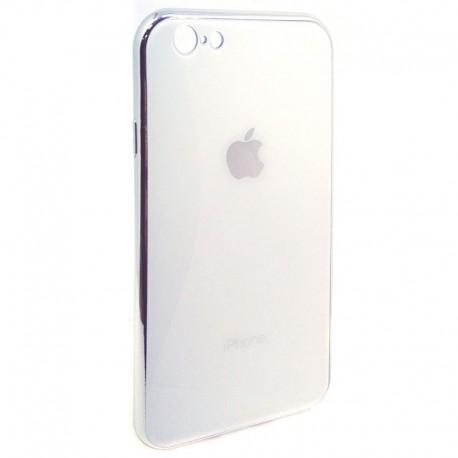 Чехол Original Glass Case iPhone 6G/6S White (Белый)