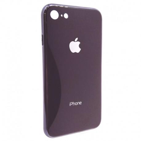 Чехол Original Glass Case iPhone 7G Black (Черный)