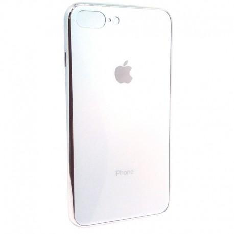 Чехол Original Glass Case iPhone 7G+ White (Белый)