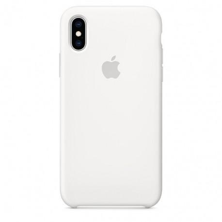 Силиконовый чехол Silicone Case iPhone Xr White (Белый)