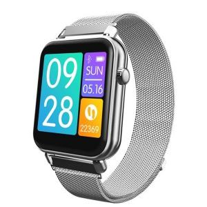 Умные спортивные часы Sport Smart Watch Philips Q1 IP67 (2 ремешка) Silver