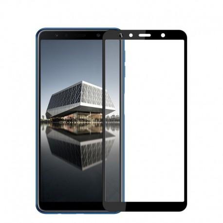 Защитное стекло HOCO 3D GLASS для Samsung Galaxy A7 2018 (A750) Black (Черный)
