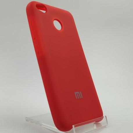 Силиконовый чехол (silicone case) Xiaomi Redmi 4X Red (Красный)